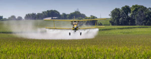 Crop duster doing business as a corporation