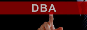 Bussinessman registering a Tradename and DBA for proprietorship