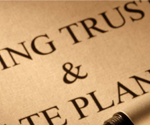 Restriction on Expenditures Placed on Trust